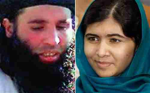 Mullah Fazlullah and Malala Yousafzai, whom Fazlullah tried and failed to murder