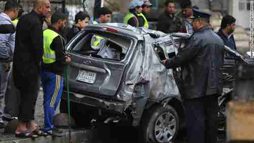 Almost 100 people were killed in and around Baghdad, Iraq, on Wednesday, from ten coordinated car bomb attacks across the city and the country (CNN)