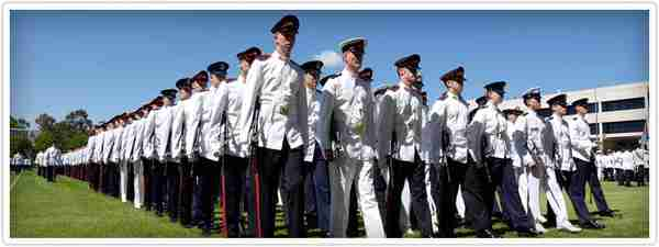 Australian Defense Force Academy parade, 2-March-2013