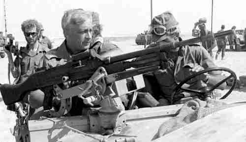 Ariel Sharon in October, 1973 (Reuters)