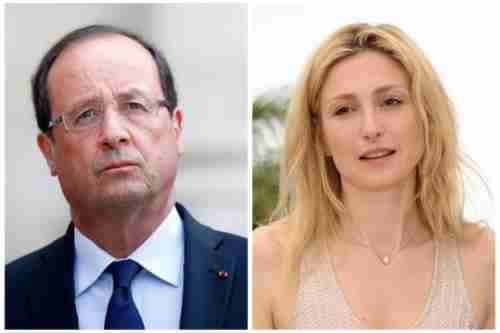 Fran�ois Hollande and French actress Julie Gayet (EPA)