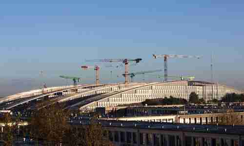 New Nato headquarters under construction in Brussels (Spiegel)