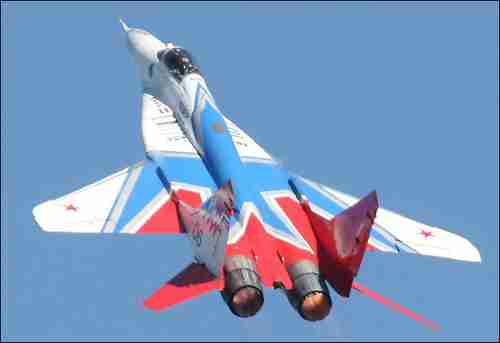 MiG-29 'Fulcrum' warplane (Richard Seaman)