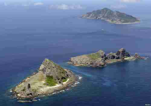 The Senkaku Islands are thought to be in the midst of vast gas and oil resources (Reuters)