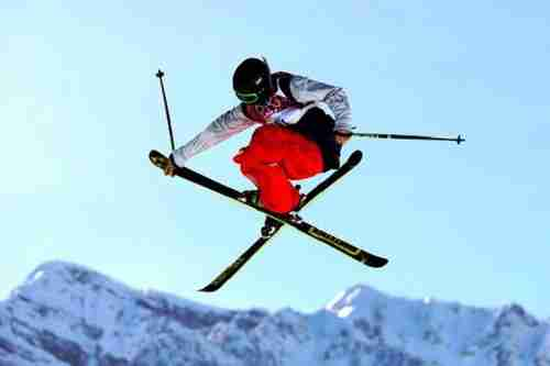 Joss Christensen, American gold medal winner in freestyle skiing