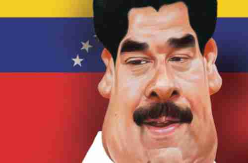 Nicol�s Maduro cartoon (Gulf News)