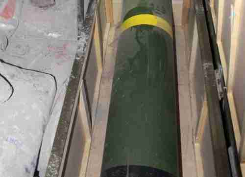 Iranian missile captured by Israel forces