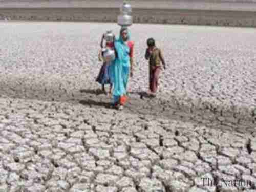 Hundreds of villages have been vacated in the drought (The Nation)