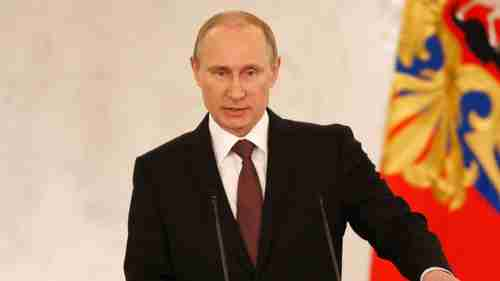 Putin giving speech on Tuesday