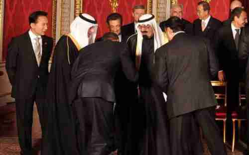 President Obama was heavily criticized for bowing to King Abdullah during his last visit to Saudi Arabia