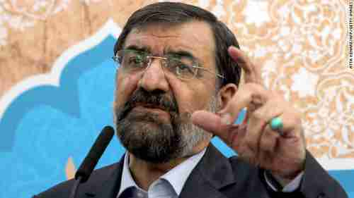 Mohsen Rezaei was Iran's top commander during the 1980s war with Iraq