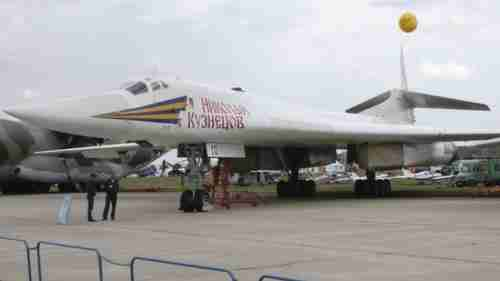 Tupolev TU-160 'Blackjack' bomber