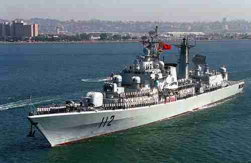 Chinese destroyer Haribing