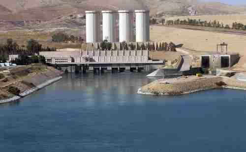 Mosul hydroelectric dam
