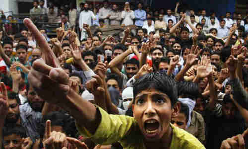 Demonstrations by Kashmiri separatists (AP)