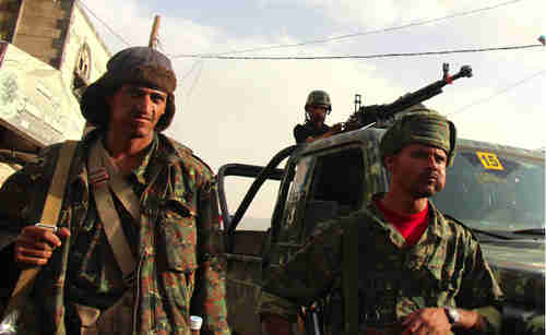Yemen soldiers (Yemen Times)