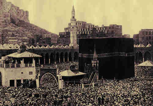 Hajj in Mecca, 1920 (Getty)