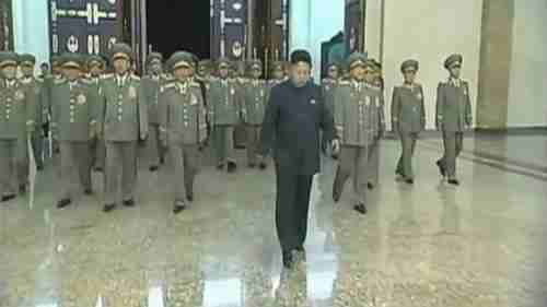 Kim Jong-un limping on July 8