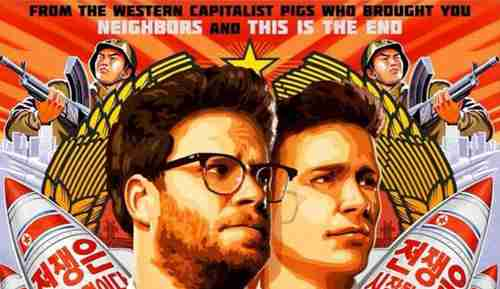 Publicity poster for Sony's movie 'The Interview'