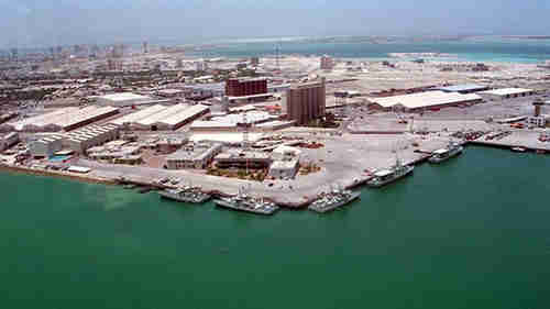 The base will be an expansion of Bahrain's Mina Salman port, with limited facilities that Britain has been using since 1971
