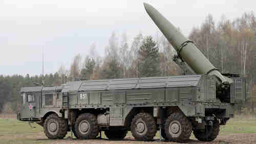 Iskander mobile missile system (Russia Today)