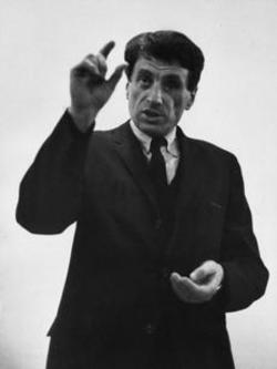 Iannis Xenakis -- 1966 picture