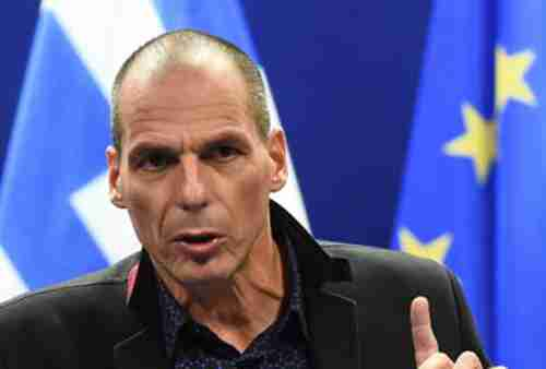 Greece's angry finance minister Yanis Varoufakis on Monday