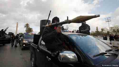 Libyan police in Tripoli (Reuters)