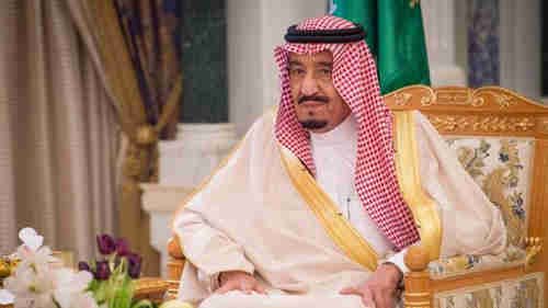 Saudi King Salman ordered a 'sweeping military operation' into Yemen on Wednesday