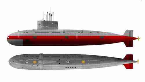 Submarine image from Pakistan Defense