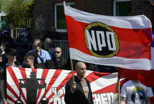 Neo-Nazi National Democratic Party of Germany (NPD)