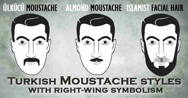 Turkish Moustache Styles (Hurriyet)