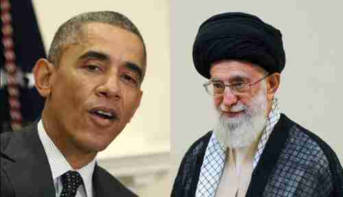 President Barack Obama and Ayatollah Seyed Ali Khamenei (AFP)