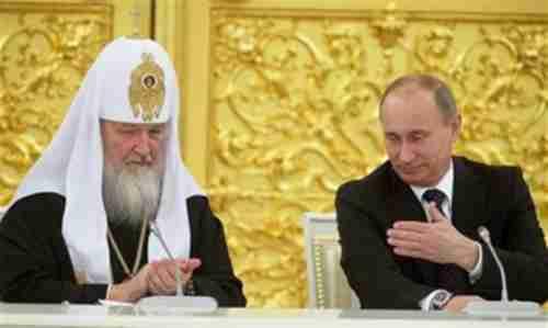 Patriarch Kirill and Vladimir Putin (Ria Novosti)