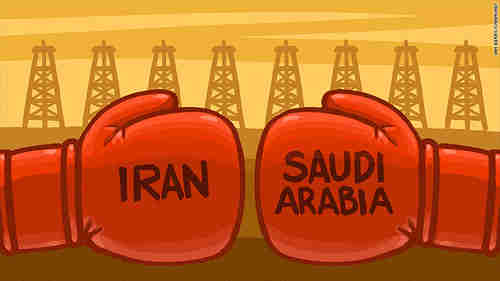 Iran and Saudi Arabia use oil as a weapon in their sectarian conflicts (CNN)
