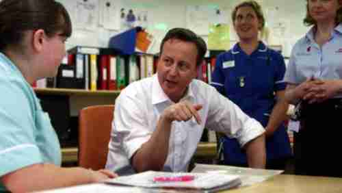 David Cameron warned to take 'bold action' to save the National Health Service