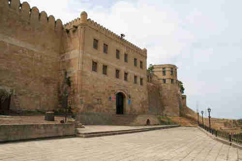 In Russia's 5,000 year old city of Derbent, the Citadel was built by a Persian shah in the sixth century.