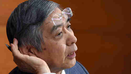 Bank of Japan governor Haruhiko Kuroda (AFP)
