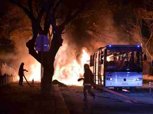 Terror attack in Ankara