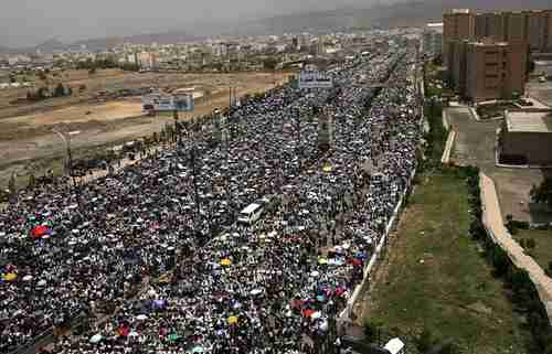 The Arab Spring in Sanaa Yemen in 2011 (AFP)