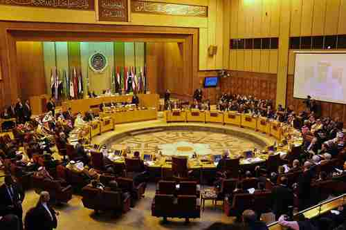 Arab League meeting on January 10 (AP)