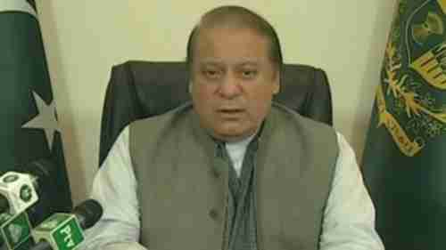 Pakistan's PM Nawaz Sharif giving nationwide televised address, promising vengeance