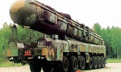 Mobile DF-41 missile