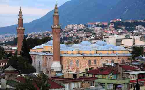 Suicide bomber blew herself up near Bursa's 14th century Ottoman Empire Grand Mosque