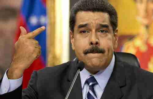 Nicol�s Maduro on Tuesday (AP)