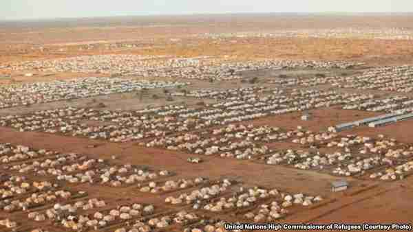 Dadaab refugee camp in 2012