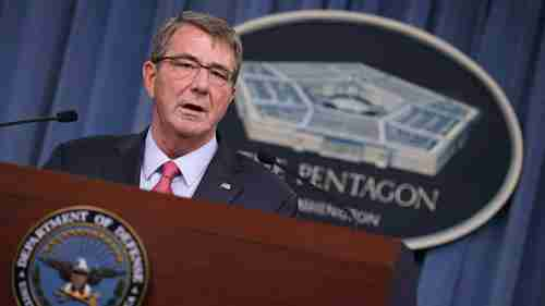 Secretary of Defense Ash Carter (Getty)