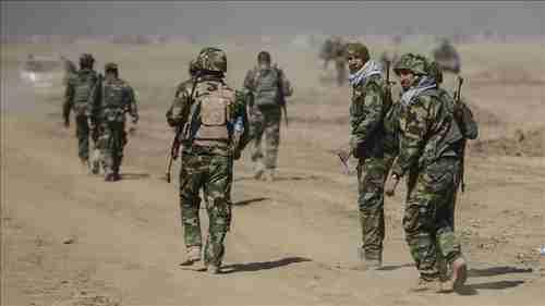 Kurdish Peshmerga forces in operation to liberate Mosul on Monday (Anadolu)