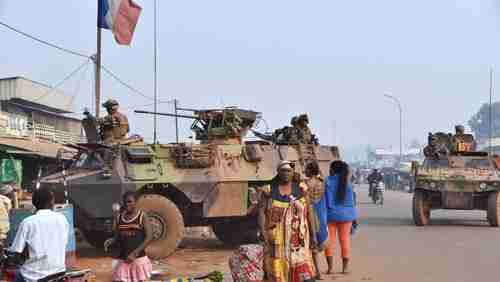 French peacekeeping force in Central African Republic (AFP)