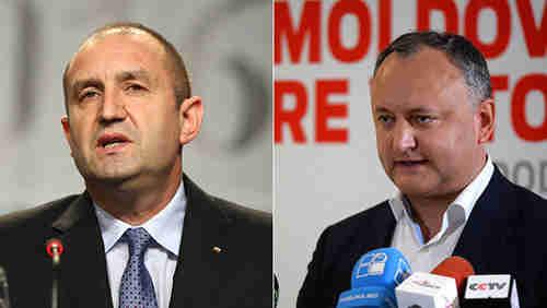 Presidents-elect: Rumen Radev (Bulgaria), and Igor Dodon (Moldova)